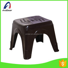 Household fashionable eco-friendly PP plastic and endurable using 4-leg foot stool