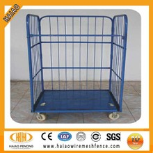 China supplier mobile stackable steel storage roll cargo container