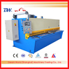 easy operation Hand lever shearing machine ,QC12Y shearing machine, ISO9001 approved plate shears