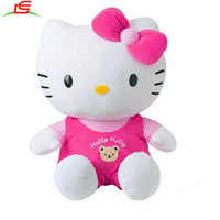 OEM ODM custom factory direct supply stuffed plush toy hello kitty