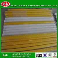 harga kain polyester mesh/high tension screen printing mesh with low price(factory)