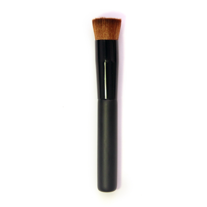Professional Makeup <strong>Brush</strong> Face Cheek Flawless Liquid Powder Foundation Concave <strong>Brushes</strong> Blend Flat Perfect Cosmetic Tool CA4061
