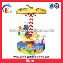 3-seat High quality carousel horses, kids roundabout