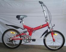 20 inch folding bike bicycle/full suspension folding trek/high quality folding bike