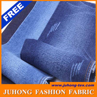 100%cotton denim fabric material for men trousers