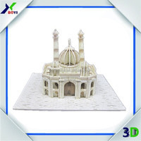 World Famous Building DIY 3D Puzzle Model/3D Foam Puzzle for Kids Toys