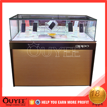 Shopping mall cell phone accessories cases kiosk retail customized furniture design for oor mobile shop