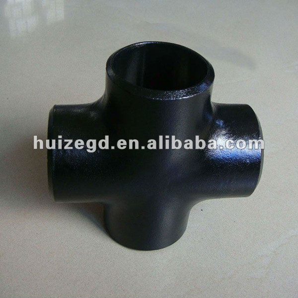 ansi b16.9 carbon steel pipe fitting bw tee
