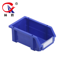 heavy duty warehouse spare part use plastic stackable storage bins