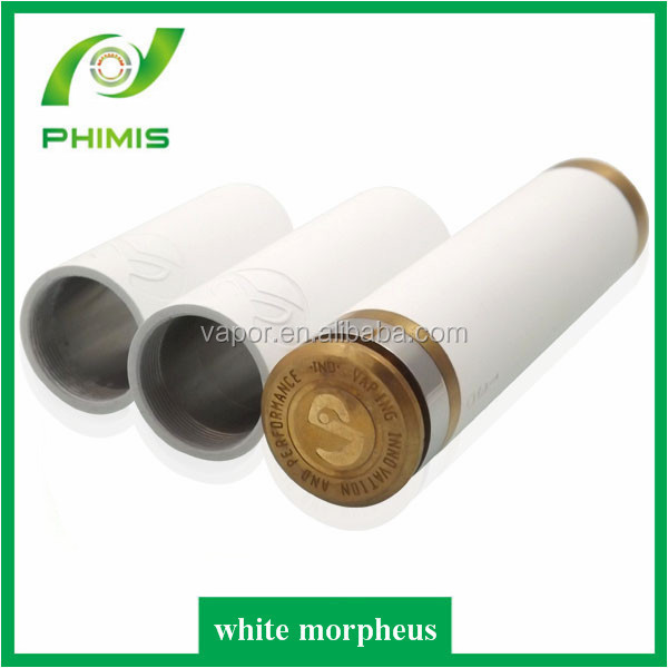 2014 new prodcuts hot huge vapor cheap mechanical white morpheus mod