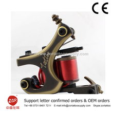 Pro Tattoo Machine True Brass Gun High Quality tattoo machine coils