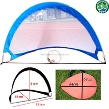 mini soccer net goal for baby training target beach sports football goal portable pop up soccer goal