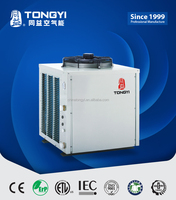 Natural wind source and Green protection air water heat pump for business building