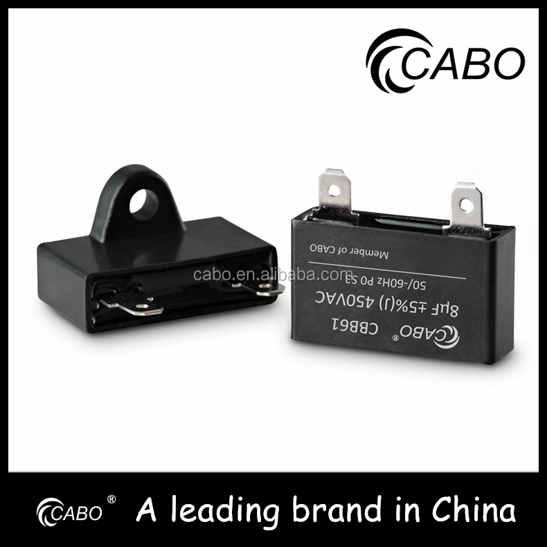 CBB61 motor capacitor //For motor starting and motor running use CBB61 BM fan capacitor//UL,CE,CQC,VDE,CB,TUV S3