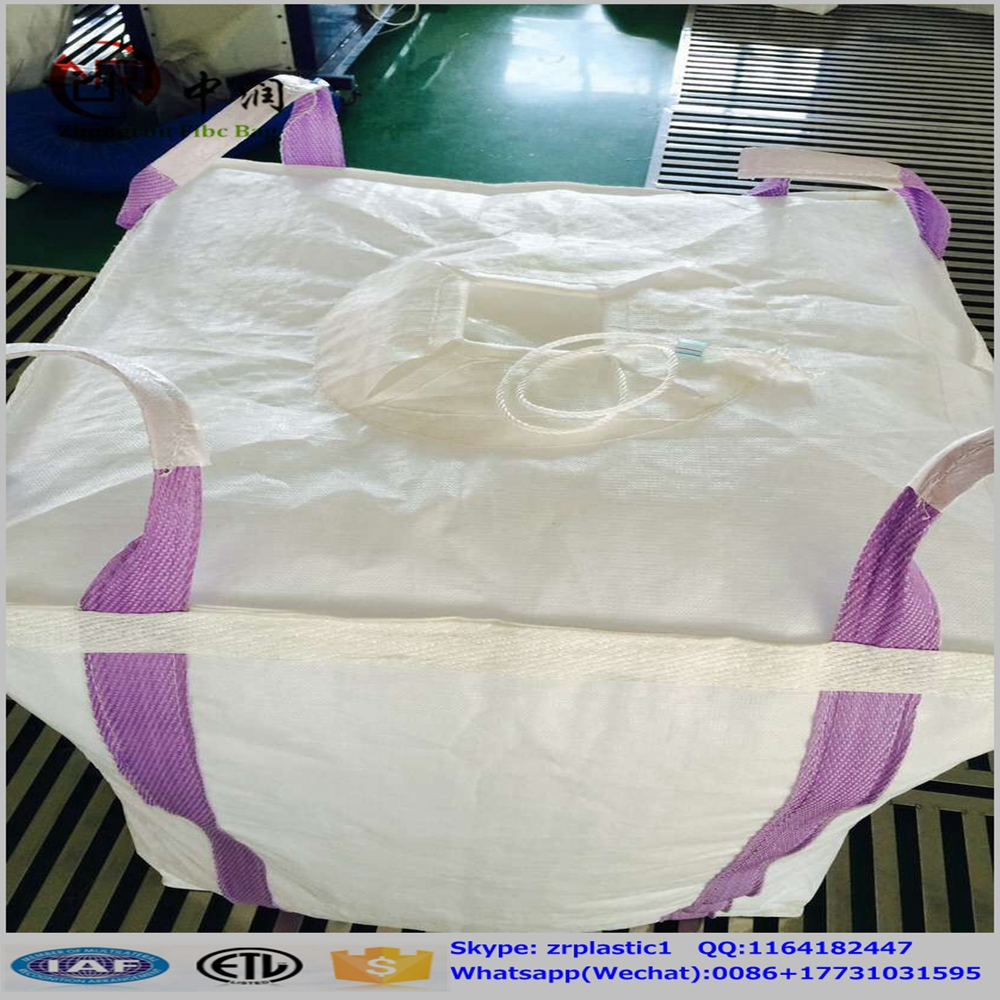 PP bulk container , full belt lifting bags jumbo size for coal , mineral , construction