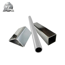 6061 7005 7075 t6 22mm anodized round triangular aluminium square hollow tube