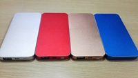Power Bank / External Backup Battery Charger Cases / Covers for iphone5 with 5000mah Capacity