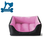Cute Cuddle Square Dog Sofa Oxford Dog Bed Waterproof Pet Beds