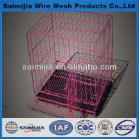 Hebei Small metal Pet Cage/rabbit cage/folded cage