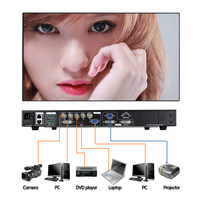 Amoonsky LED video processor scaler switcher walls AMS-LVP613S+S2 Waterproof cabinet outdoor led video wall display screen