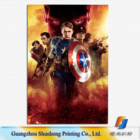 High quality movie poster printing /Customized printing service