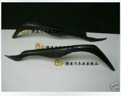 Car Eyelids Carbon Fiber Eyebrows for BMW E46 3 Series