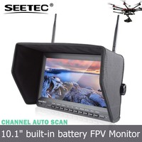 5.8GHz 32ch Diversity Receiver High Sensitivity 10.1 inch lcd monitor battery walkera for Aerial Video Filming and Photography