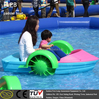 Water sport inflatable boat made in china with electric paddle boat