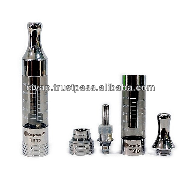 Kanger T3D Clearomizer with changeable coil available in Germany & USA