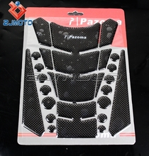 23 x 18 cm Motorbike Tank Sticker Motorcycle Fuel Tank Protector Pad Carbon Fiber Material Petrol Tank Protector Pad
