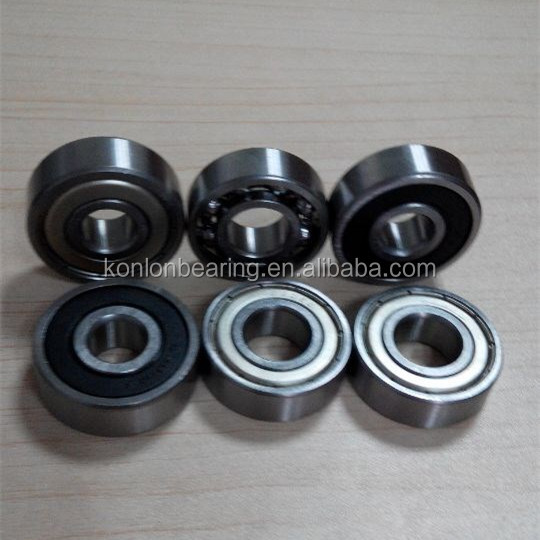 Motorcycle spare parts deep groove ball bearing 6200 6301 6203 zz 2rs with good quality low price