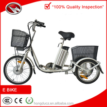 Adults three/3 wheel electric bicycle for old people