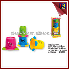 Kids learning game stacking cup