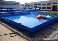 Large rectangular best practical selling inflatable swimming pool of adults and children