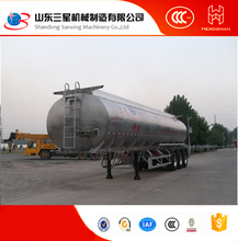 Minghang brand petrol palm olive oil Crude carton steel trailer tank Tanker trailer for sale 30~60CBM Shandong
