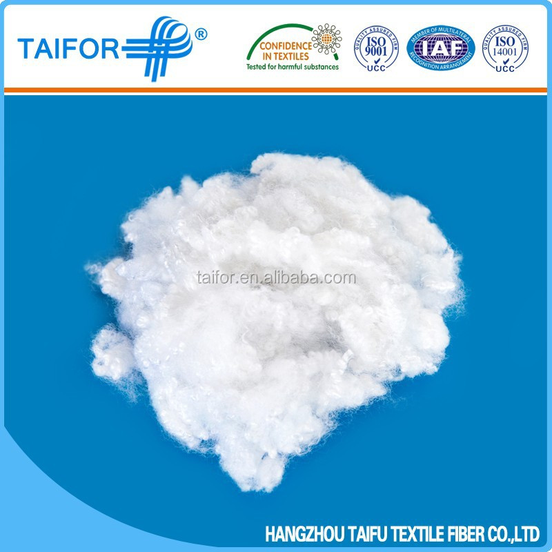 Hollow Conjugated Silicon Polyester Staple Fiber Price