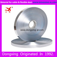 Double sided AL 9+PET 15+Glue Aluminium Mylar Foil for cable shielding and insulation material
