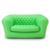 hot selling morden inflatable advertising office garden sofa chair