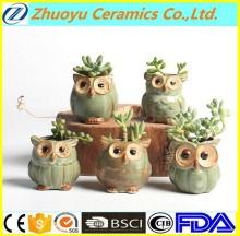 Cartoon Owl-shaped Flower Pot for Succulent Ceramic plant pots
