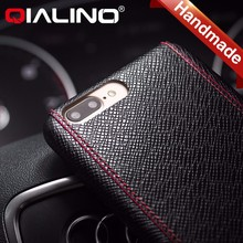 QIALINO Special design Hot selling genuine leather cell phone case mobile phone case for iphone 7 and iphone 7 plus