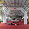 420D oxford cloth digital priting inflatable entrance arch ,inflatable advertising arch for events