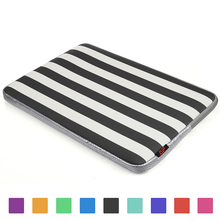 Black Stripe Protective Neoprene Laptop Bag Sleeve