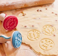 2016 yitong hot sale Silicone Cookie Stamp For Bread and Cookie For Fun