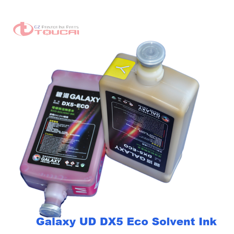 Best printing Roland Mimaki Mutoh printer compatible eco-solvent ink for epson dx5