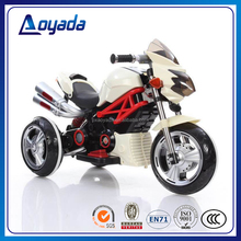 Factory wholesale cool child electric motorcycle with 2 motors / child battery motorcycle / kids tricycle motorbike for sale