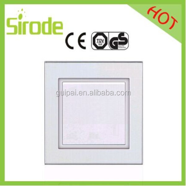 Low Cost British Curved White Electrical Wall Switches Brand 13A Fused Connection Unit With Neon