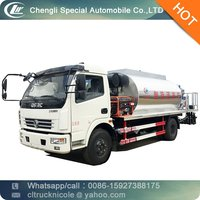 Dongfeng 4*2 95hp 3-4 ton asphalt emulsion sprayer portable, 4m3 small bitumen emulsion sprayer