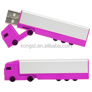 ABS plastic Truck USB Stick, 8GB USB Memory Stick, Free Sample USB Flash Drive