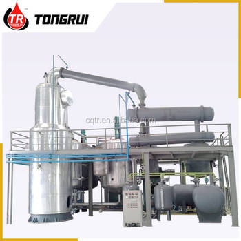 Used Engine Oil Recycling Distillation to Base Oil Refinery Equipment