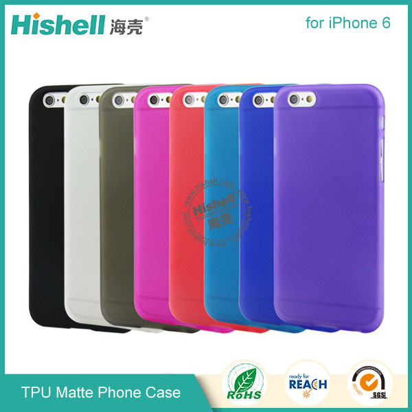 Alibaba Wholesale low price tpu matte design mobile cover for iphone 6